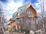 Турбаза Зеленый берег, Персиковый домик, снаружи