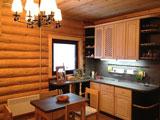 Турбаза Зеленый берег, интерьер, кухня