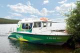 Турбаза Зеленый берег, катер Светлый
