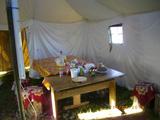 База Кильдин Восточный, палатка внутри