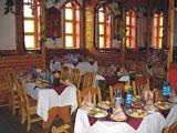 Турбаза Лесная, обед в кафе