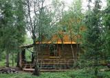 Турбаза Медвежий угол, летний домик в тундре