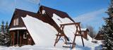 Турбаза Юлинская салма, главныйдом зимой