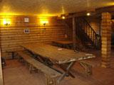 Турбаза Юлинская салма, столовая интерьер