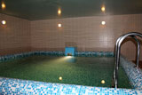Турбаза Сатка, бассейн в сауне