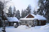 Турбаза Вува, база зимой