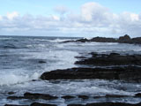 Южное побережье Баренцева моря, шторм