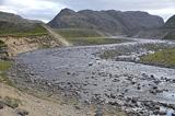 Разливы реки, тундра