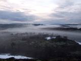 Туман в сопках