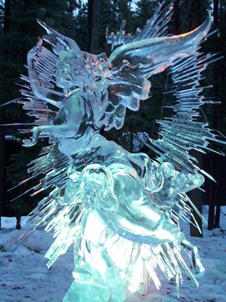 Фестиваль снежно-ледовых скульптур Снеголед